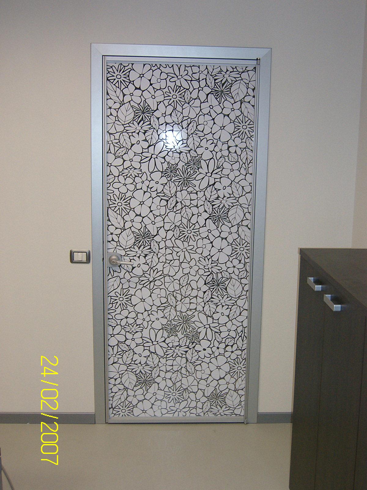 decorazione porta ufficio sericart2