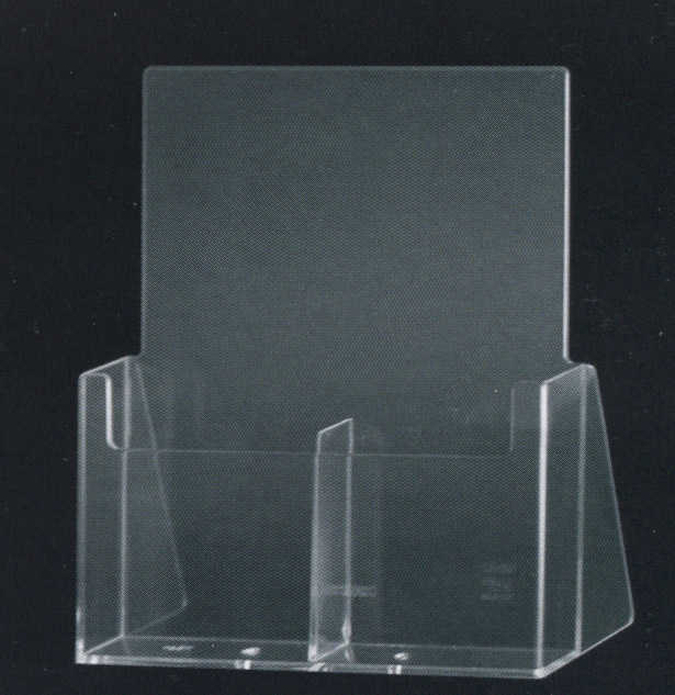 espositore doppio verticale flyer seicart2