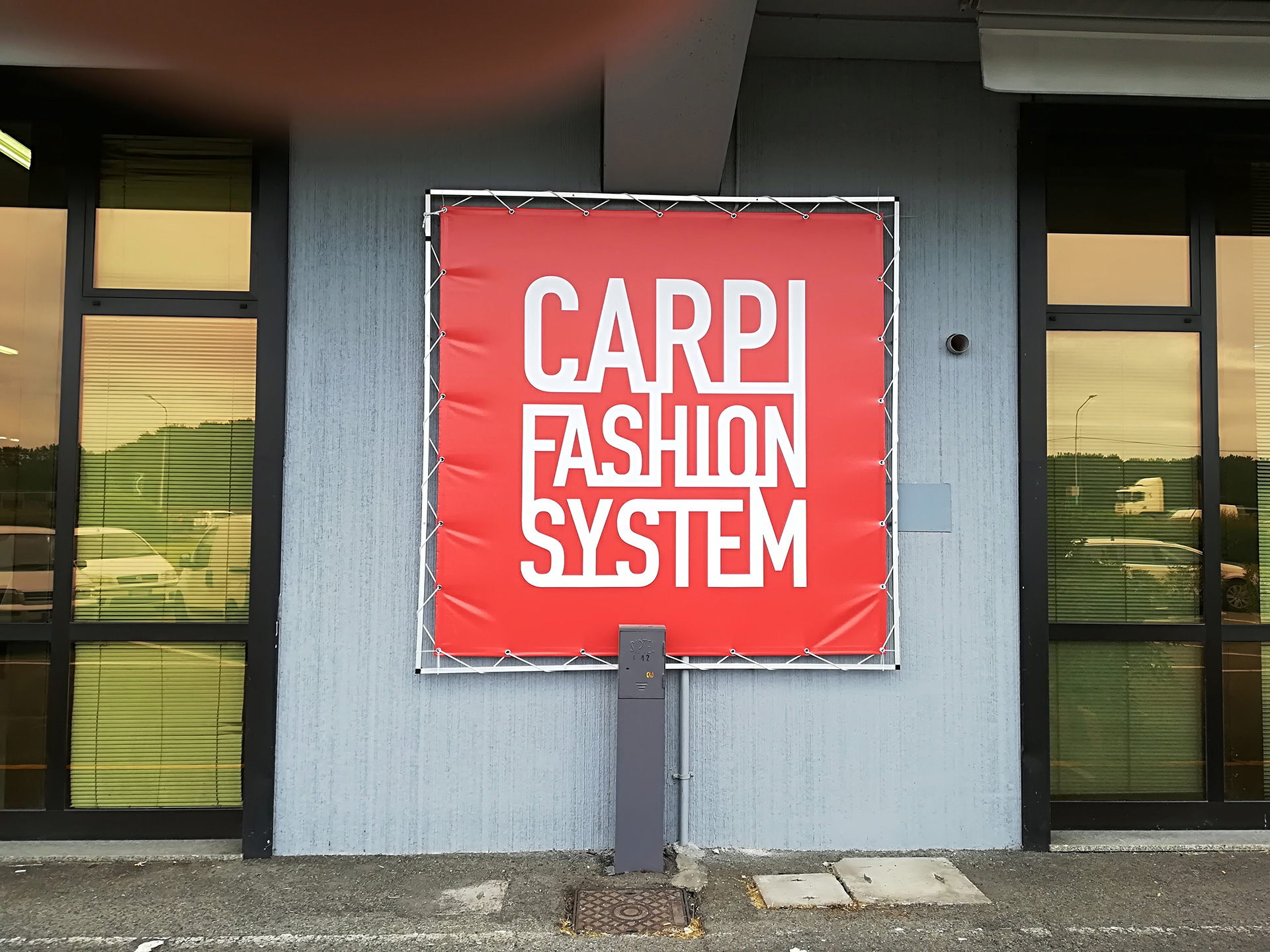 Cartellonistica Carpi Fashion System Cartello Sericart2