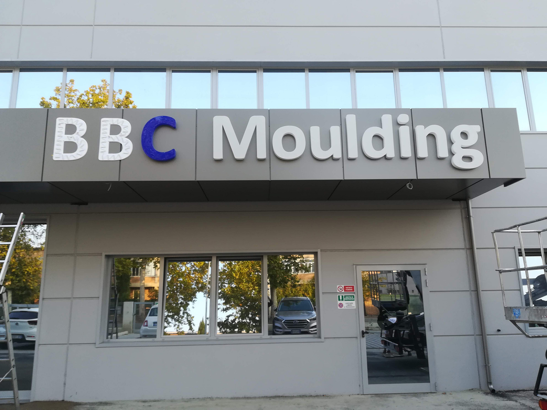 Insegne Led Bbc Moulding Lettere In Pvc Sericart2