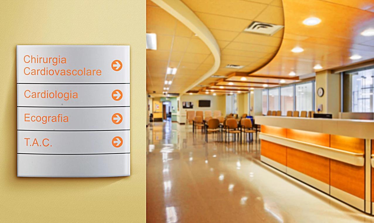 Segnaletica Aziendale Ospedale Sericart2